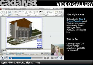Cadalyst Tips and Tricks Tuesday