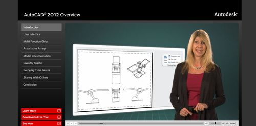 AutoCAD 2012 overview